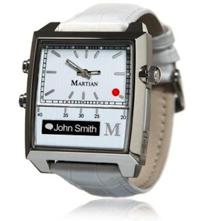 Martian passport smart watch