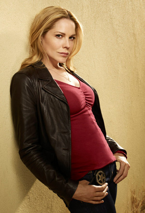Mary McCormack, star of In Plain Sight