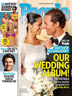 Matthew McConaughey and Camilla alves wedding