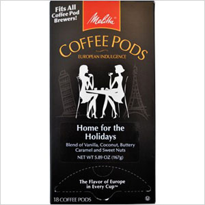 Melitta One Home for the Holidays Coffee Pods