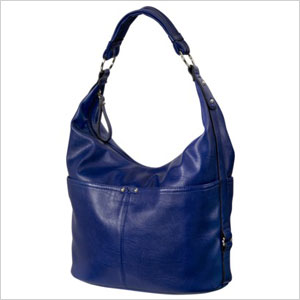 Merona blue hobo bag