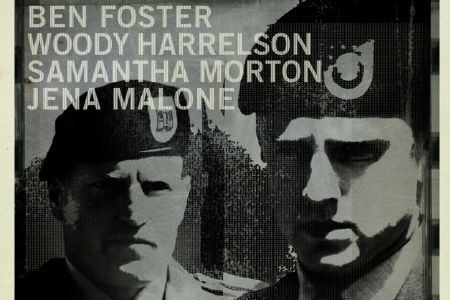 Harrelson and Foster in The Messanger