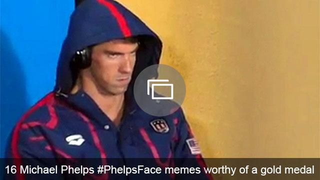 Michael Phelps memes slideshow
