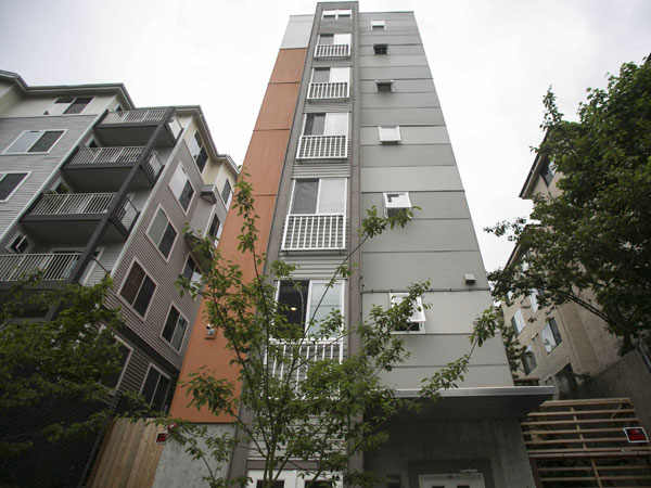 Micro-apartments in Seattle