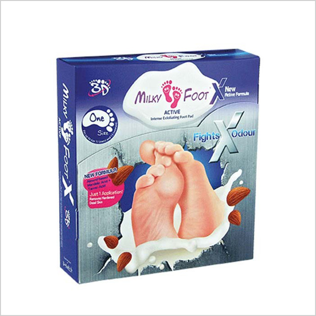 Milky Foot Exfoliating Foot Pads