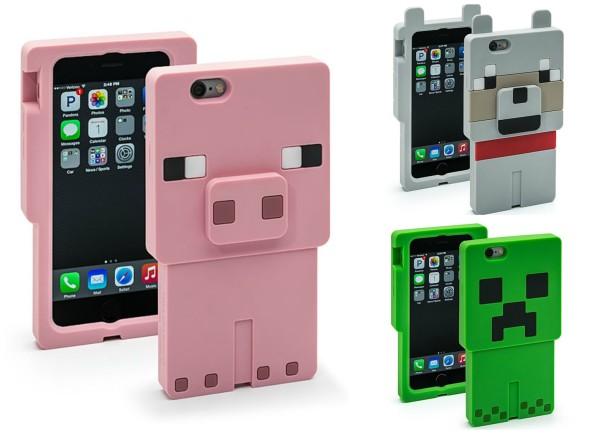 Minecraft phone case