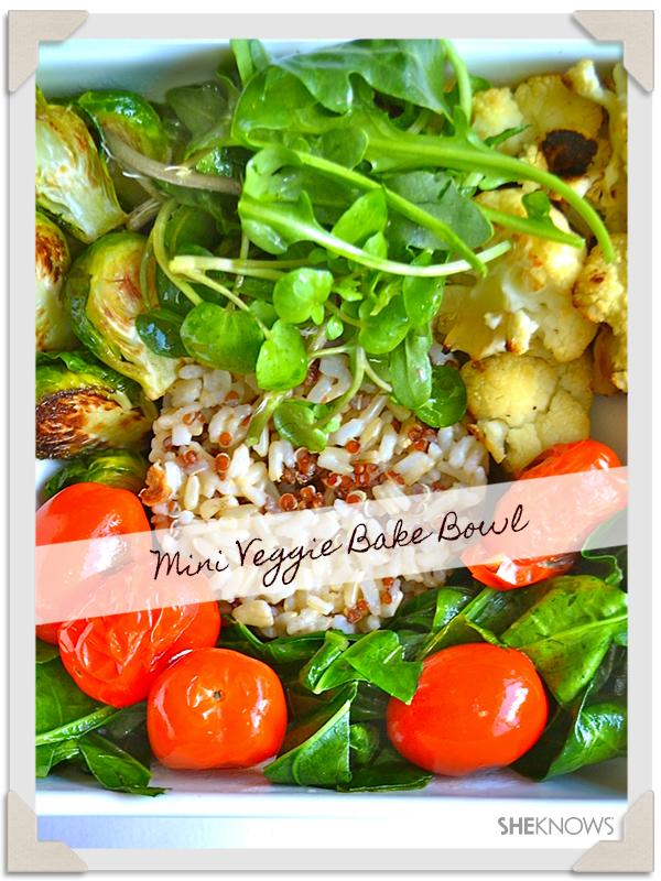 Dinner: Mini Veggie Bake Bowl