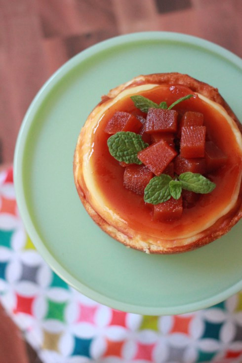 Exotic Fruit Desserts: Mini Guava Cheesecake | Summer Eats