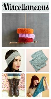 5 Miscellaneous knitting tutorials