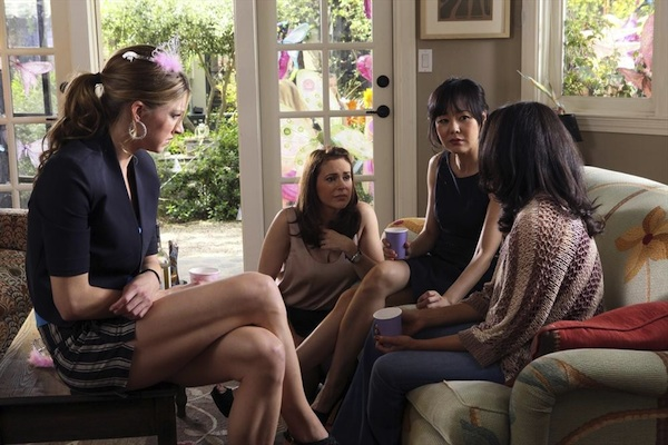 The cast in Mistresses