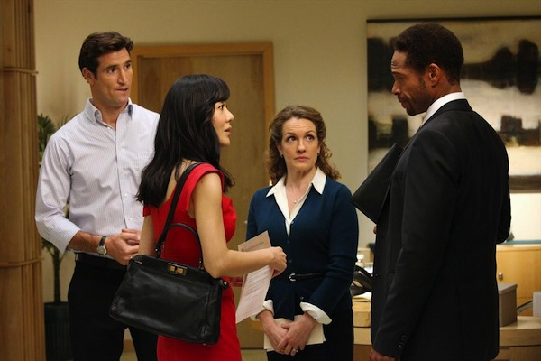 Anthony confronts Karen in Mistresses