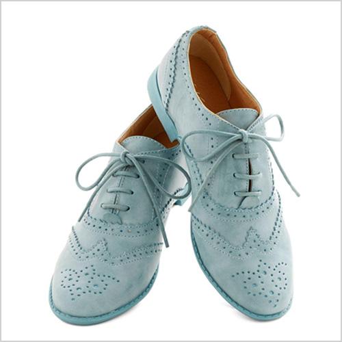 Modcloth Blue Suave Shoes Flat
