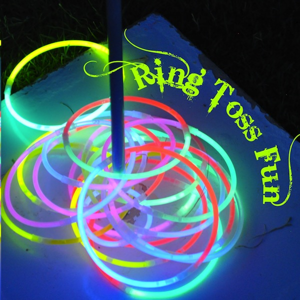 Glow in the dark ringtoss game | Sheknows.com