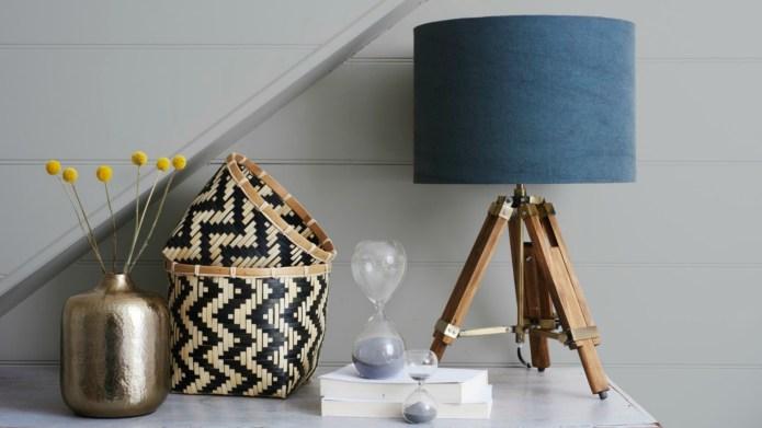 Ditch the pastels, monochrome home decor