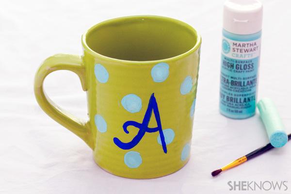 Monogram Mother's Day mug