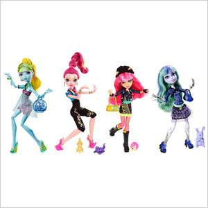 Monster High 13 Wishes doll series