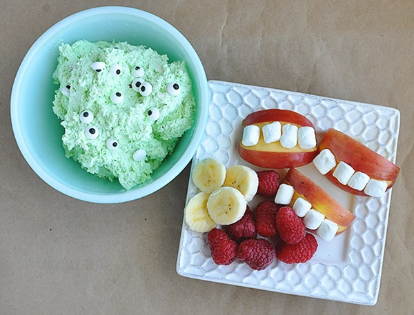 monster fruit dip