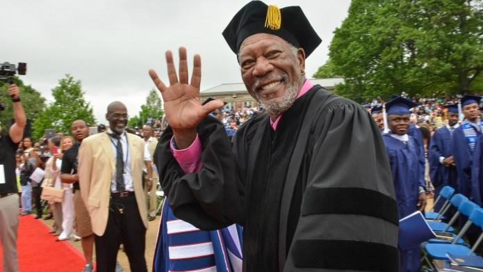 Morgan Freeman wants to legalize marijuana...