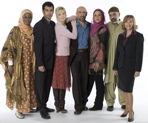 The cast of Canada's hit show Little Mosque on the Prairie