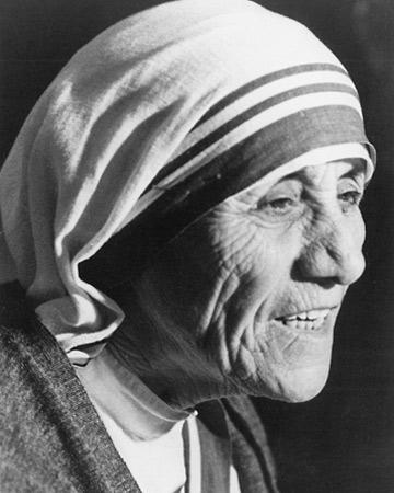 Mother Theresa circa 1979 (photo credit wenn.com)