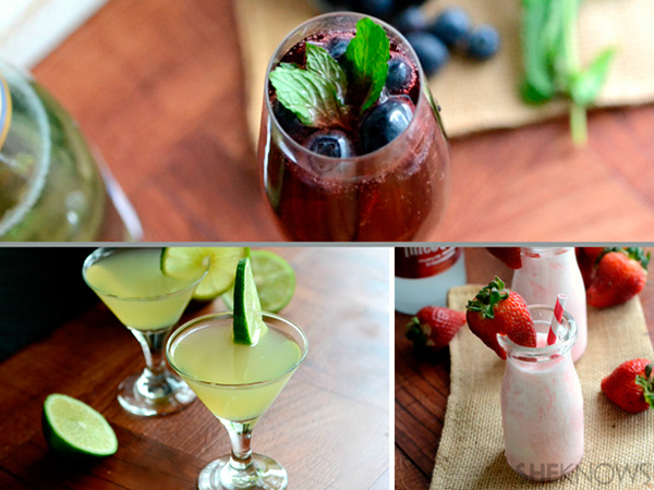 Mothers Day cocktails