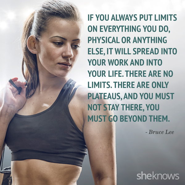 Motivational workout quotes 1