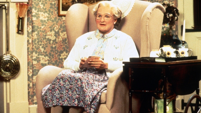 Turns out Mrs. Doubtfire was the