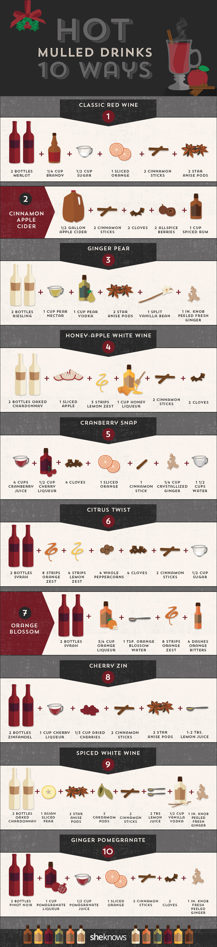 how to make mulled drinks