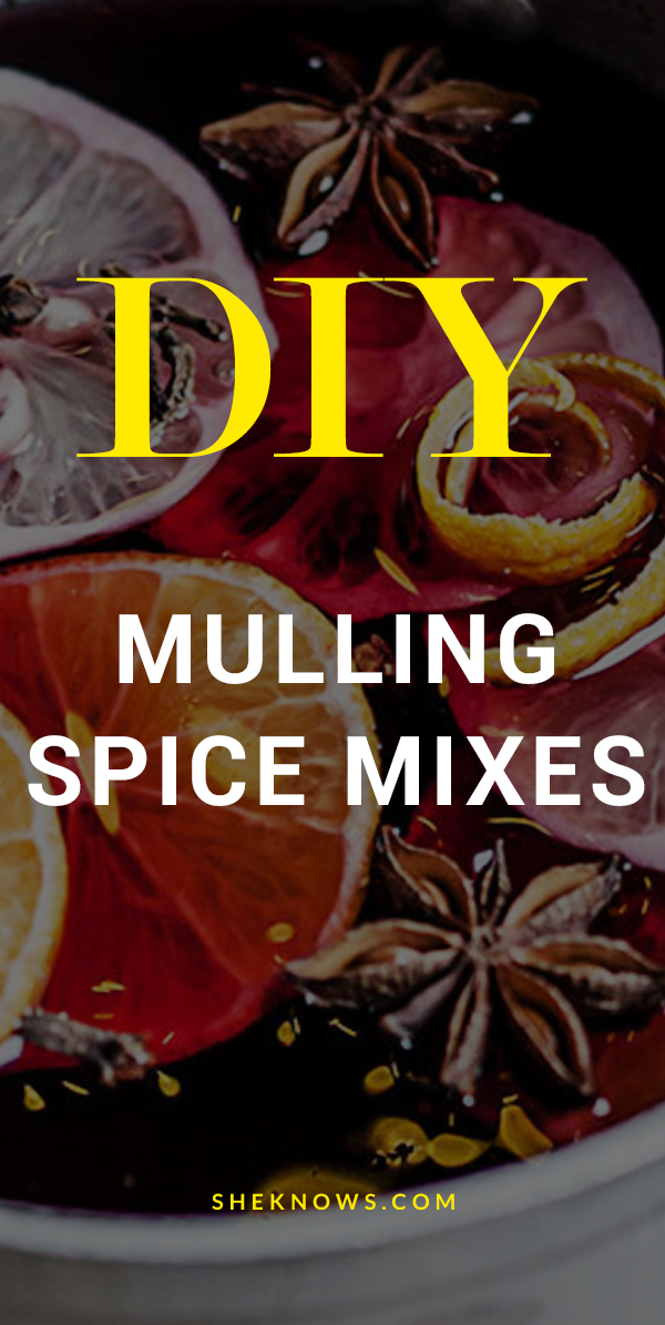 Make your own mulling spice mix now and you'll be so glad on chilly nights