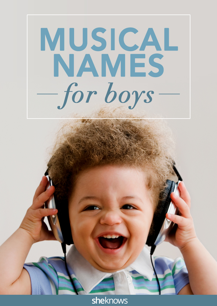 musical names for boys