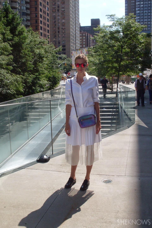 NYFW Bloggers: Elizabeth Minete