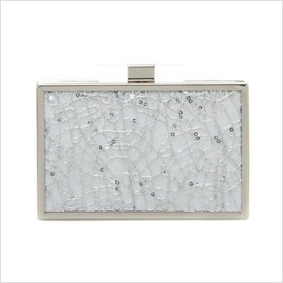Nantucket Mini Bag in Silver