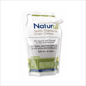 Naturall's drain cleaner