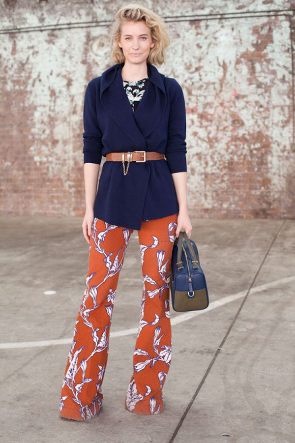 Complementary Colors: Navy and Orange