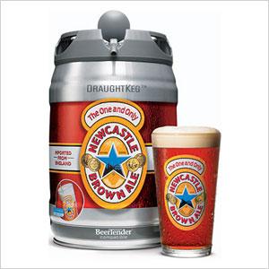 Newcastle Brown Ale Mini Keg