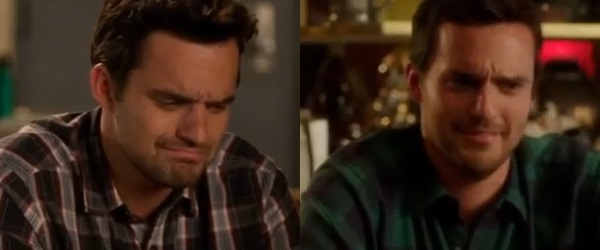 New Girl Nick Miller facial expressions