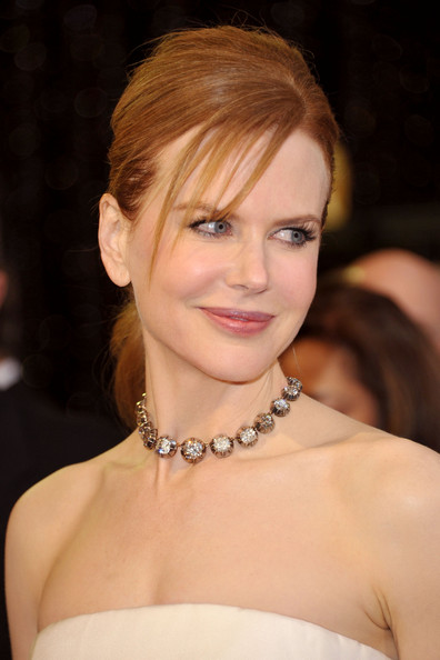 Nicole Kidman's Oscars ponytail hairstyle