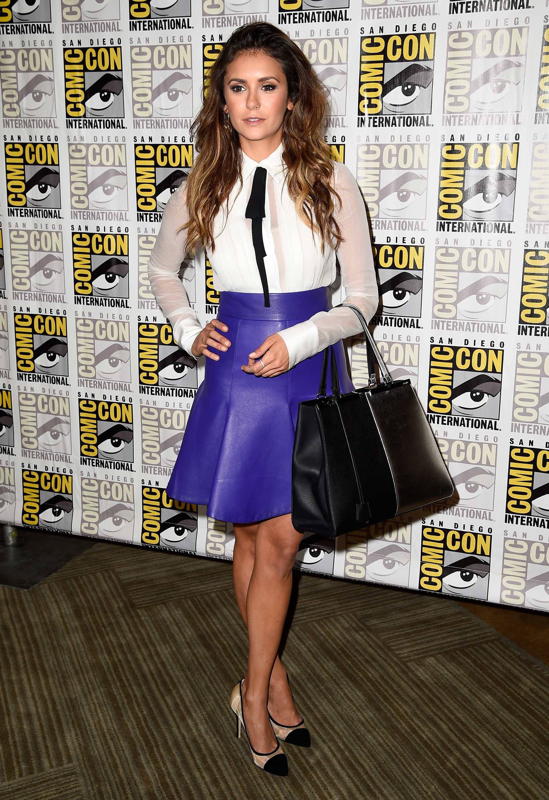 Nina Dobrev Lesson #4: Classic looks can look totally modern