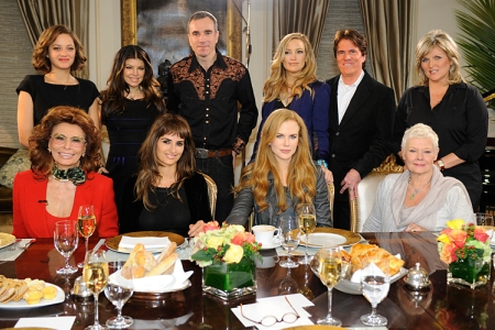 The cast of Nine visits Good Morning America December 9