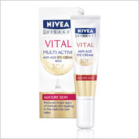 Nivea Multi Active Soy Eye Cream