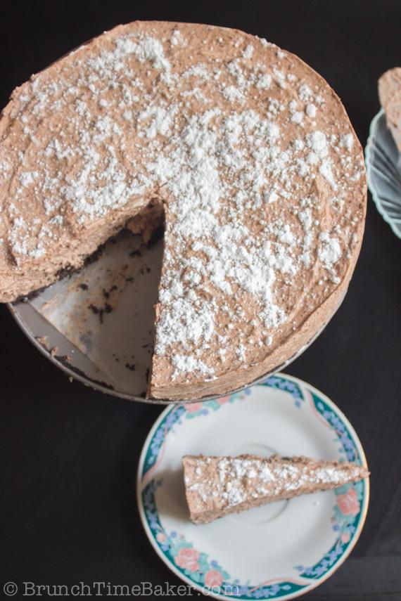 no eggs no bake chocolate mousse cake