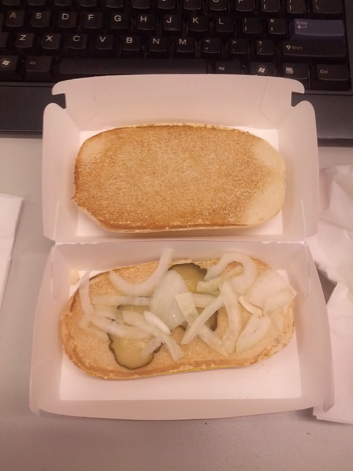 gross pictures of alleged McDonald's food 10
