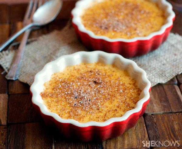 No bake pumpkin brûlée