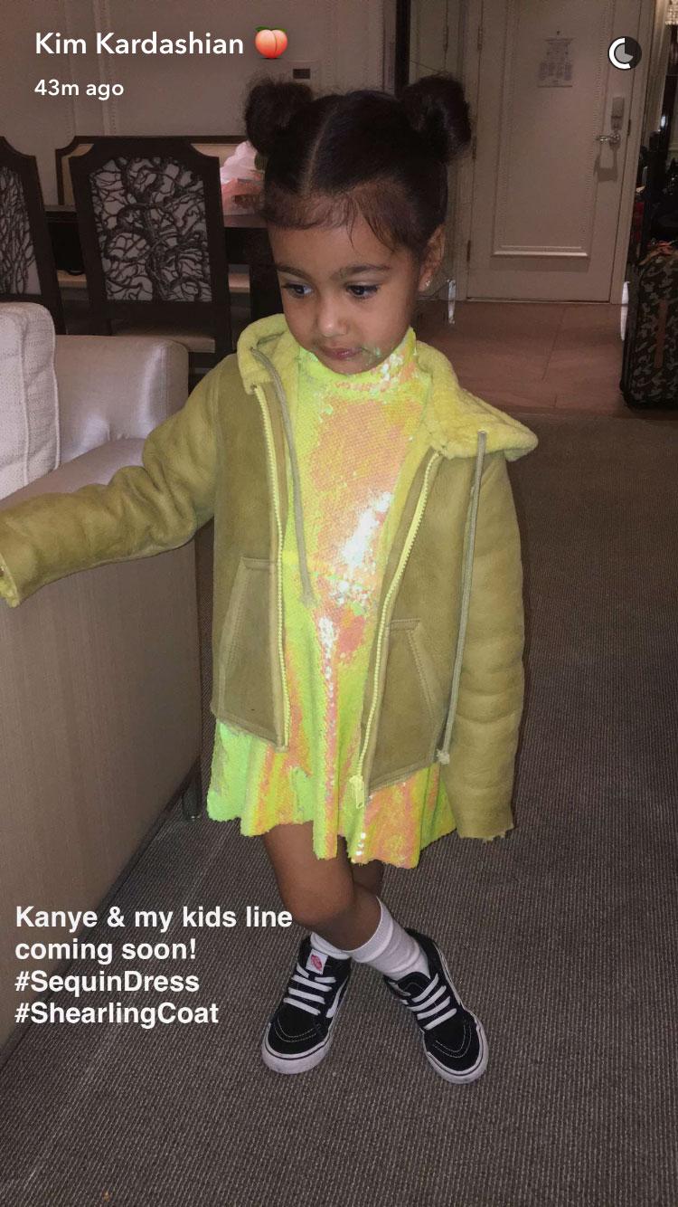 Kim Kardashian snapchat pic