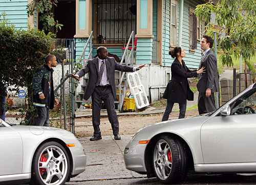 Numb3rs gets hot, tonight on CBS
