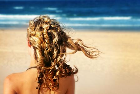 ocean sun hair