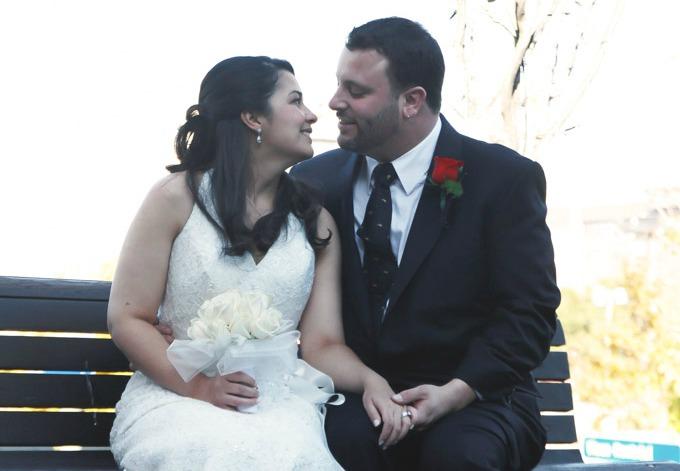 Olivia Ribas wedding day
