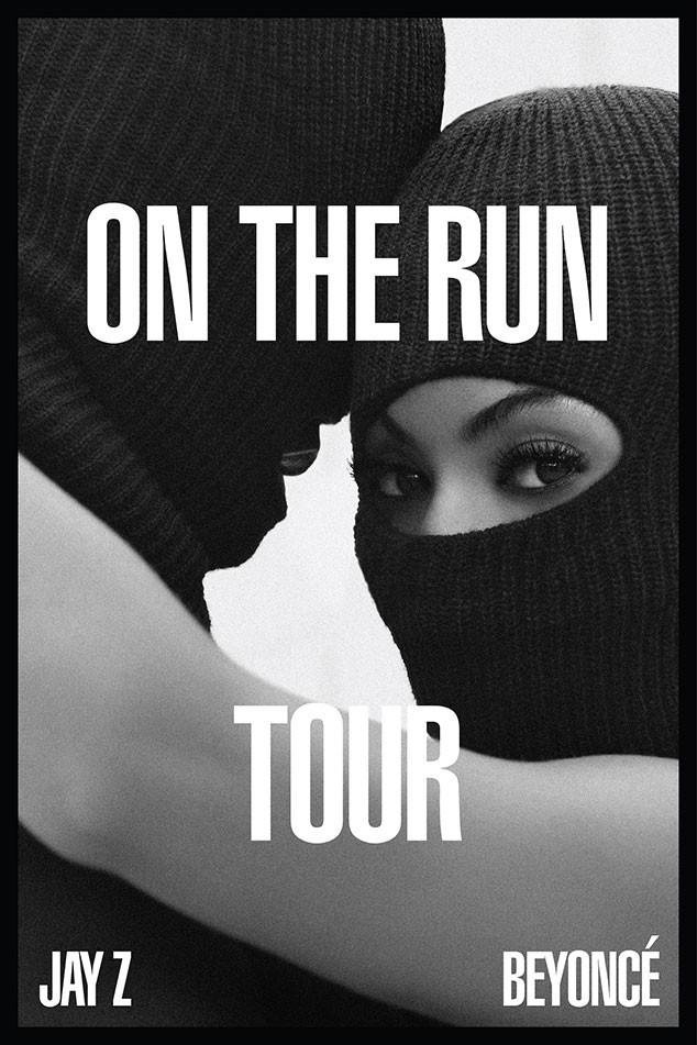Beyonce Jay Z Tour Promo Poster