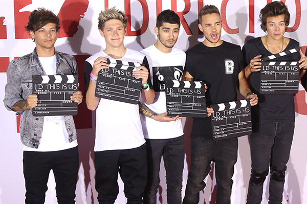 One Direction movie premire