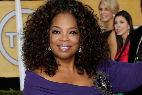 Oprah Winfrey celebrates her 60th birthday